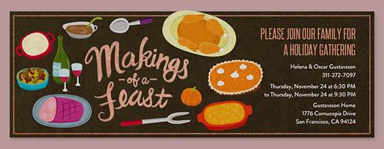 Makings of a Feast